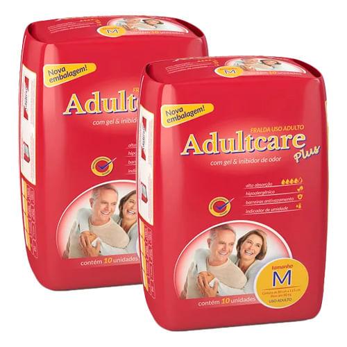 Kit-Fralda-Geriatrica-Adultcare-M-10-Tiras-2-Pacotes-Drogaria-SP-9150428