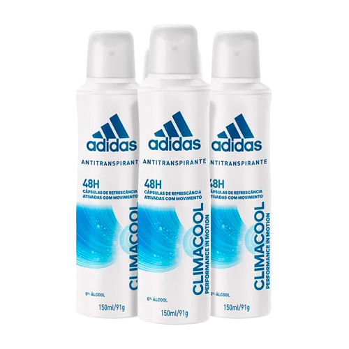 Kit-Desodorante-Adidas-Aerosol-Climacool-Feminino-150ml-3-Unidades-Drogaria-SP-9150443