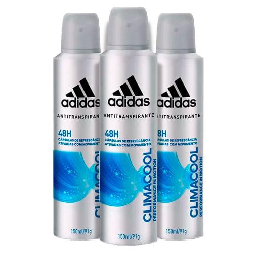 Kit-Desodorante-Adidas-Aerosol-Climacool-Masculino-150ml-3-Unidades-Drogaria-SP-9150444