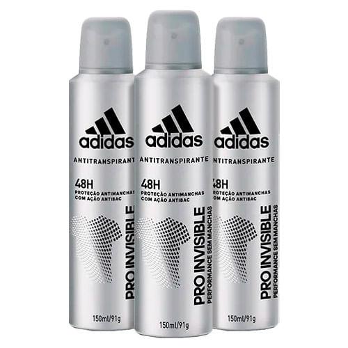 Kit-Desodorante-Adidas-Invisible-Aerosol-Masculino-150ml-3-Unidades-Drogaria-SP-9150451