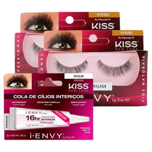 Kit-Kiss-Cilios-Postico-First-Naturale-01-2-Unidades---Cola-Para-Cilios-New-York-16-Horas-Incolor-Drogaria-SP-9045600