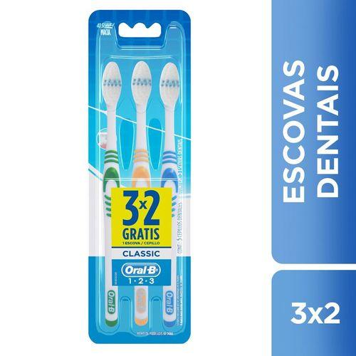 escova-dental-oral-b-classic-40-macia-3-unidades-Drogaria-SP-261505