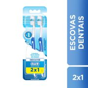 Kit-Escova-Dental-Oral-B-Indicator-Plus-35-2-Unidades-Drogaria-SP-577529