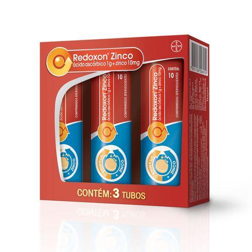 Redoxon-Zinco-Efervescente-Bayer-30-Comprimidos-Drogaria-SP-183741