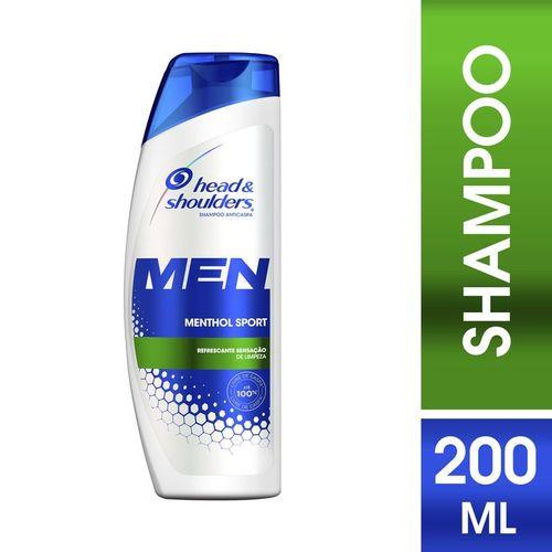 shampoo-head--shoulders-menthol-refrescante-masculino-200ml-Drogaria-SP-106526