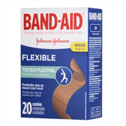 Curativo-Band-Aid-Flexible-Johnsons-20-Unidades-Drogaria-SP-557560-1