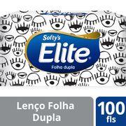 Lenco-De-Papel-Elite-Softy-s-Maxima-Suavidade-100-Folhas-Drogaria-SP-92444