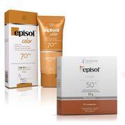 Kit-Protetor-Solar-Episol-Color-Pele-Morena-FPS-70-40g--Protetor-Solar-Color-Pele-Morena-FPS-50-Po-Compacto-10g-Sao-paulo-93512480