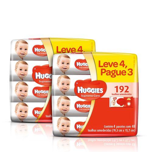 Kit-Lencos-Umedecidos-Huggies-Supreme-Care-4-Unidades-2-Pacotes-Sao-paulo-93512550
