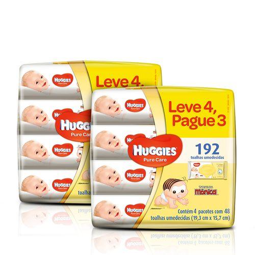 Kit-Lenco-Umedecido-Huggies-Pure-Care-4-Unidades-2-Pacotes-Sao-paulo-93512552
