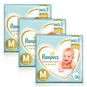 kit-fralda-pampers-premium-care-jumbo-m-80-Unidades-3-Pacotes-Drogaria-SP-93512573