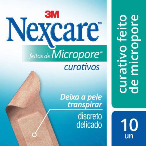 Curativo-Nexcare-3M-Microporoso-10-Unidades-54348-1