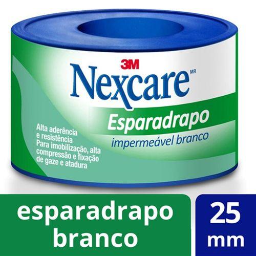 Esparadrapo-Impermeavel-Nexcare-Branco-25mm-x-3m-Drogaria-SP-90840-1