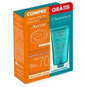 kit-protetor-solar-facial-avene-emulsao-toque-seco-com-cor-fps70-50ml--gel-de-limpeza-cleanance-60ml-Drogaria-SP-690660