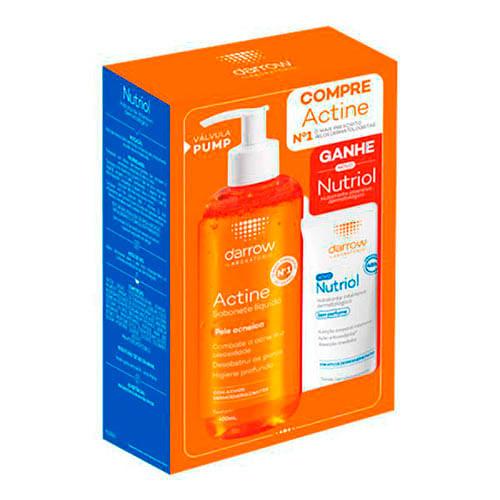 kit-darrow-sabonete-liquido-facial-actine-400ml--locao-hidratante-nutriol-400ml-Drogaria-SP-695297
