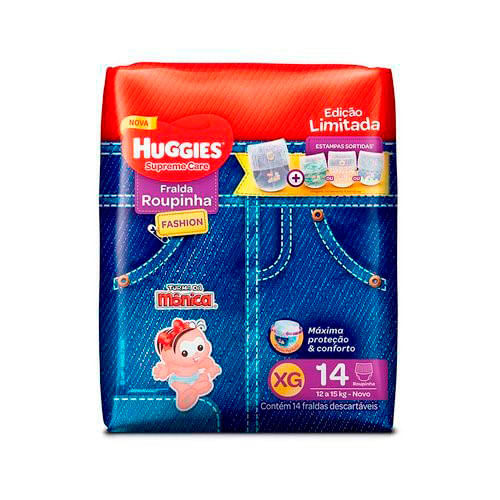 fralda-huggies-supreme-care-roupinha-fashion-xg-14-unidades-Drogaria-SP-698954