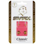 brinco-antialergico-studex-classic-bezel-cristal-medio-dourado-drogaria-sp-677493