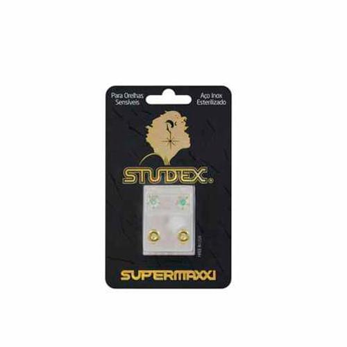 brinco-studex-supermaxxi-pedra-cristal-dourado-espelhado-1-par-Drogaria-SP-680974