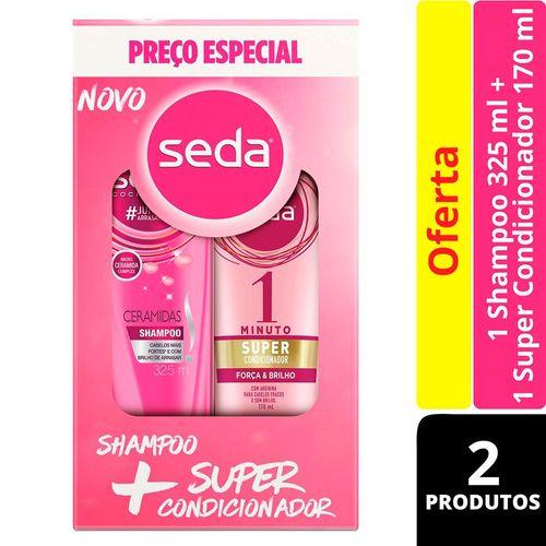 kit-seda-shampoo-ceramidas-325ml--super-condicionador-forca-e-brilho-170ml-Drogaria-SP-692239