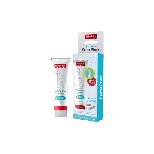 gel-dental-fisher-price-sem-fluor-50g-gratis-escova-infantil-drogaria-sp-689718