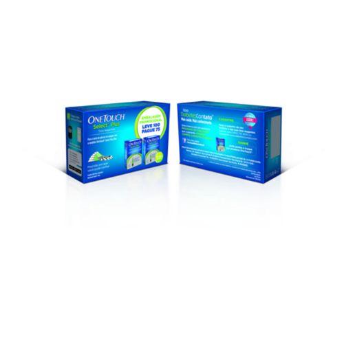 Tiras-Reagentes-One-Touch-Select-Plus-100-Unidades-Drogaria-SP-676683-2