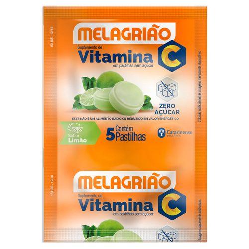 Melagriao-S-Acucar-Sabor-Limao-Focomed-5-Pastilhas-drogaria-sp-16683