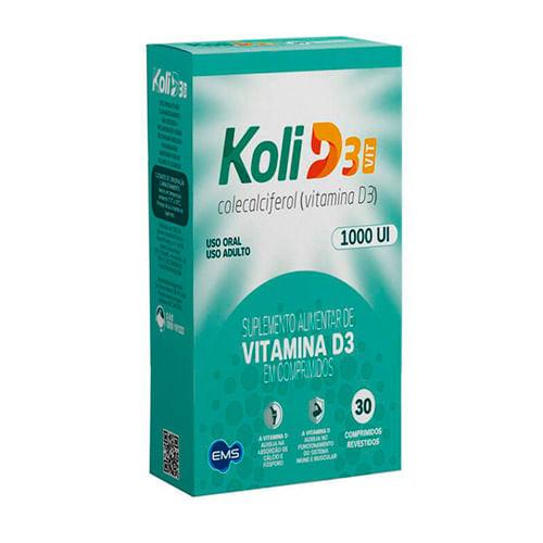 koli-d3-VIT-1000ui-ems-30-comprimidos-Drogaria-SP-709280