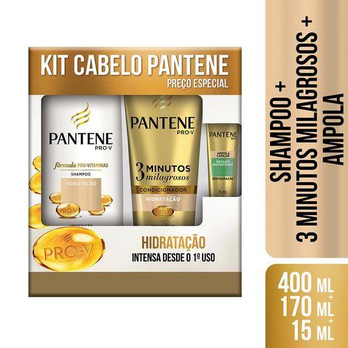 Kit-Pantene-Shampoo-Hidratacao-400ml---Condicionador-3-Minutos-Milagrosos-170ml---Ampola-Drogaria-SP-661600-1