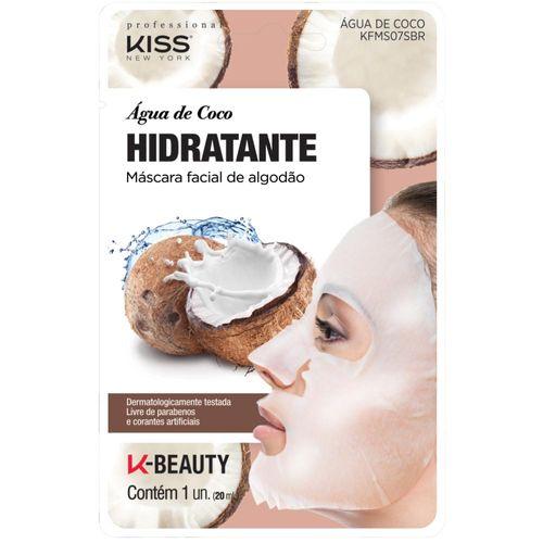 Mascara-Facial-Hidratante-Kiss-New-York-Agua-De-Coco-20ml-Drogaria-SP-683507