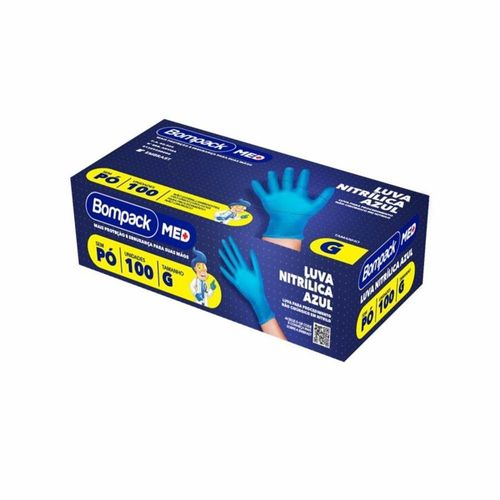 Luva-Nitrilica-Bompack-Azul-Sem-Po-Tamanho-G-100-Unidades-Drogaria-SP-714739