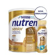 Kit-Suplemento-Alimentar-Nestle-Nutren-Senior-Cafe-com-Leite-370g--Baunilha-Zero-Lactose-200ml-Drogaria-SP-935127158