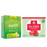 Kit-Cha-Desincha-Abacaxi-com-Limao-Siciliano-30-Saches--Dr-Cha-Immunitea-Roma-com-Hortela-30-Saches-Drogaria-SP-935127186