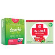Kit-Cha-Desincha-Pitaya-com-Blueberry-30-Saches--Dr-Cha-Immunitea-Roma-com-Hortela-30-Saches-Drogaria-SP-935127187