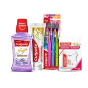 Kit-Colgate-Total-12-Anti-Tartaro-Creme-Dental-140g-Enxaguante-Bucal-250ml-Escova-Dental-Colgate-Ultra-Soft-3-Unidades-Fita-Dental-25m-Drogaria-SP-935127325