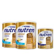 Kit-Suplemento-Alimentar-Nestle-Nutren-Senior-Baunilha-740g-2-Unidades--Sem-Sabor-370g-Drogaria-SP-935127396