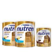 Kit-Suplemento-Alimentar-Nestle-Nutren-Senior-Baunilha-740g-2-Unidades---Chocolate-370g-Drogaria-SP-935127399