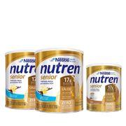 Kit-Suplemento-Alimentar-Nestle-Nutren-Senior-Baunilha-740g-2-Unidades-Cafe-com-Leite-370g-Drogaria-SP-935127405