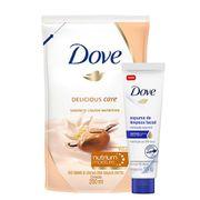 Kit-Dove-Sabonete-Liquido-Nutritivo-Karite-Refil-200ml--Espuma-De-Limpeza-Facial-Hidratacao-Essencial-15g-Drogaria-SP-935127434
