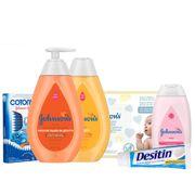 Kit-Johnsons-Sabonete-Liquido-400ml-Shampoo-400ml--Desitin-113g-Lenco-Umedecido-96-Unidades-Cotonete-75-Unidades-Hidratante-200ml-Drogaria-SP-935127455