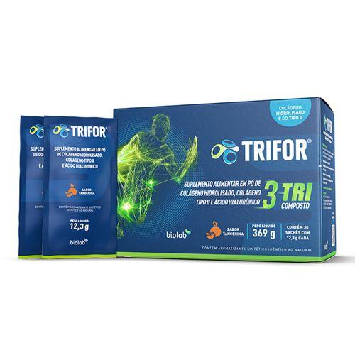 Suplemento-Alimentar-Trifor-Colageno-Hidrolisado-Tipo-II-30-Saches-Drogaria-SP-718947