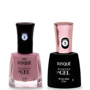 Kit-Risque-Diamond-Gel-Esmalte-Top-Coat-Fixador-9-5ml---Esmalte-Sal-Rosa-9-5ml-Drogaria-SP-935127538