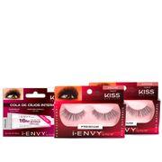 Kit-Kiss-Cilios-Posticos-First-Juicy-Nude-03-2-Unidades---Cola-Para-Cilios-New-York-16-Horas-Incolor-Drogaria-SP-935127610