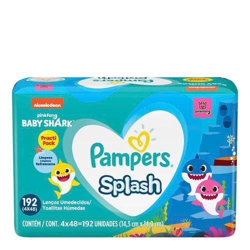 Lencos-Umedecidos-Pampers-Splashers-Baby-Shark-192-Unidades-Drogaria-SP-722464-1
