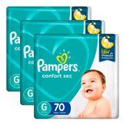 kit-fralda-pampers-confort-sec-g-70-unidades-3-pacotes-Drogaria-SP-935127715
