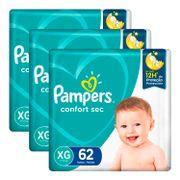 kit-fralda-pampers-confort-sec-xg-62-unidades-3-pacotes-Drogaria-SP-935127716