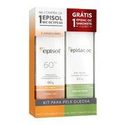 Kit-Protetor-Solar-Episol-Sec-OC-FPS60-60g-Sabonete-Liquido-Epidac-OC-100ml-Drogaria-SP-721980