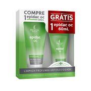 Kit-Sabonete-Liquido-Facial-Epidac-OC-150ml--60ml-Drogaria-SP-721956-1