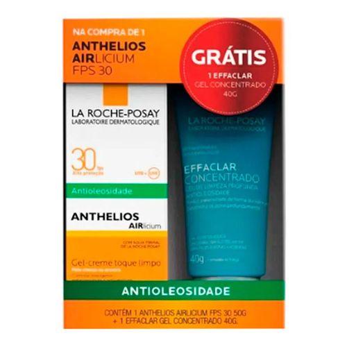 Kit La Roche-Posay Anthelios Airlicium FPS30 50g + Effaclar Concentrado 60g