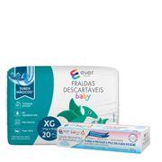 Kit-Fralda-Descartavel-Ever-Care-Baby-XG-20-Unidades---Creme-Preventivo-de-Assaduras-Ever-Care-120g-Drogaria-SP-935128063