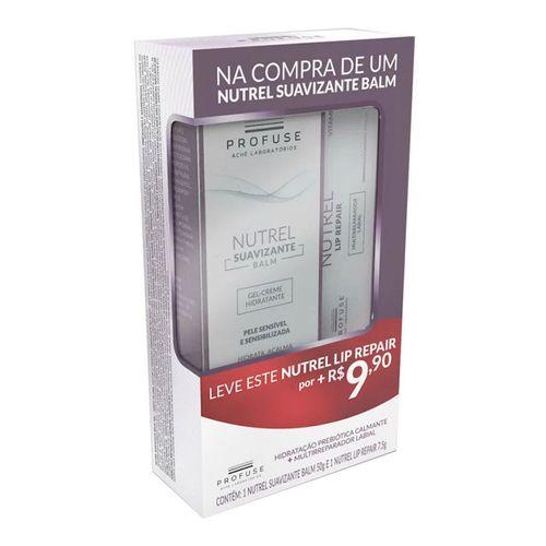 Kit-Profuse-Nutrel-Gel-Creme-Suavizante-Balm-50g--Multirreparador-Labial-Lip-Repair-7-5g-Drogaria-SP-723967